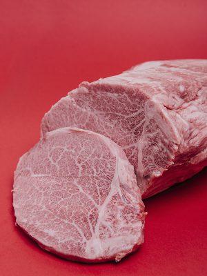 Comprar carne de kobe. Solomillo de wagyu japones
